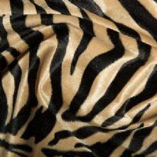 Ex Display Ibex Print Short Pile Fur Xtra Large Bean Bag
